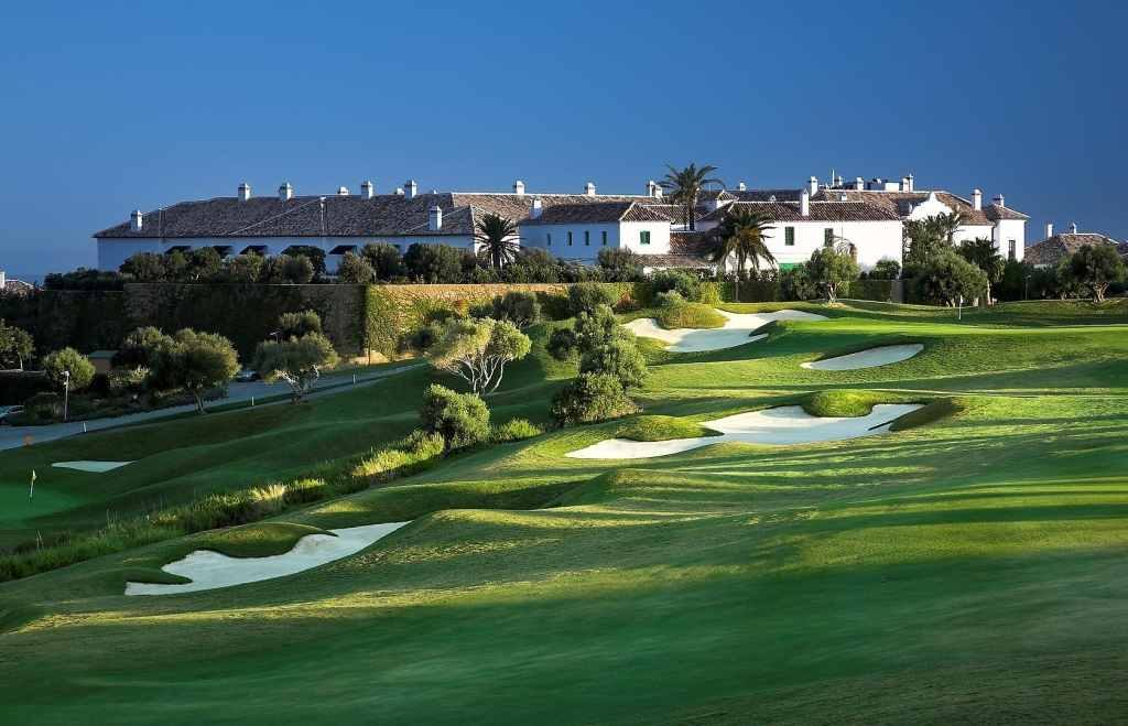 Finca Cortesin - Hole 9, Clubhouse & Hotel