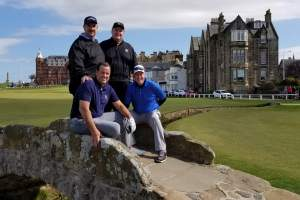 St Andrews Old Course Guaranteed tee time, client picture