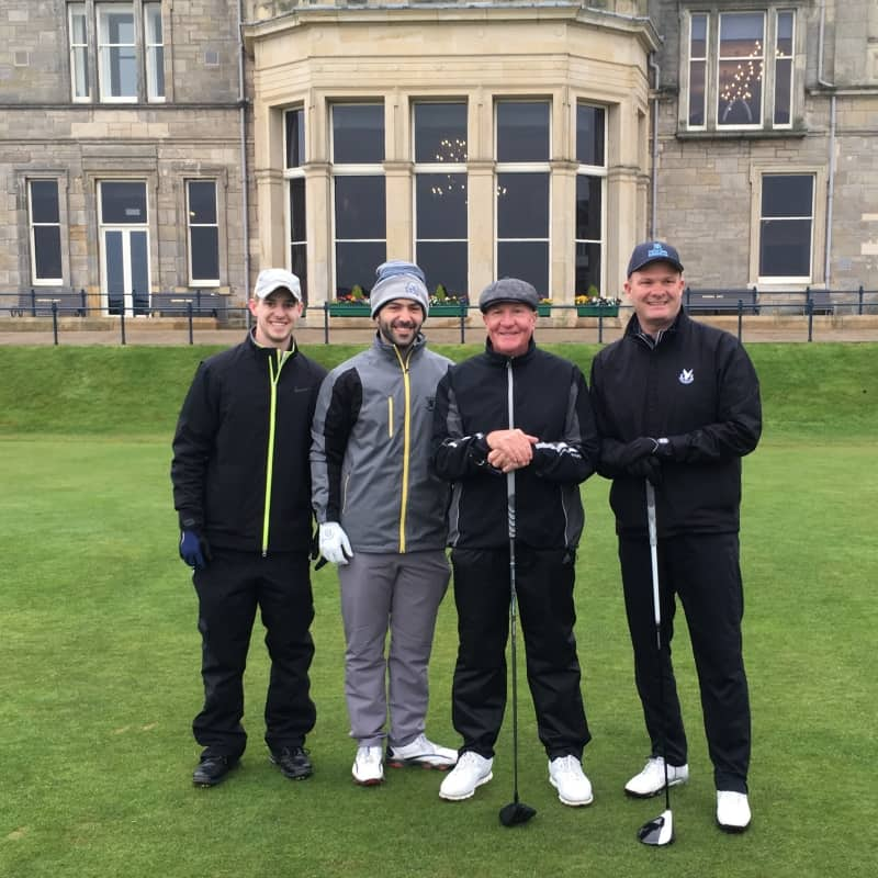 BallotBuddy - Playing the Old Course April 19