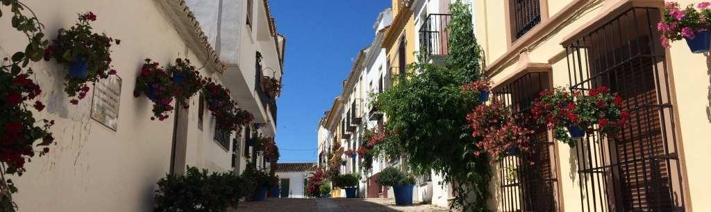 Estepona - traditional town