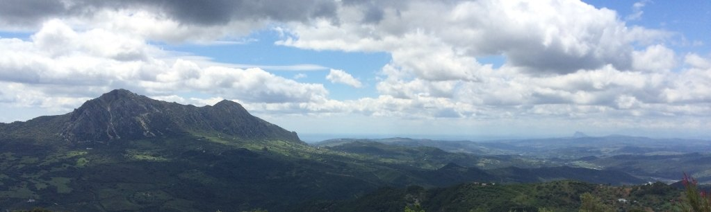 Gaucin - view from walking trail
